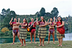 "Welcome to Taupō ""Tuhingamata style"" - Welcoming Visitors"